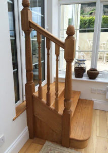 Stairs to Conservatory
